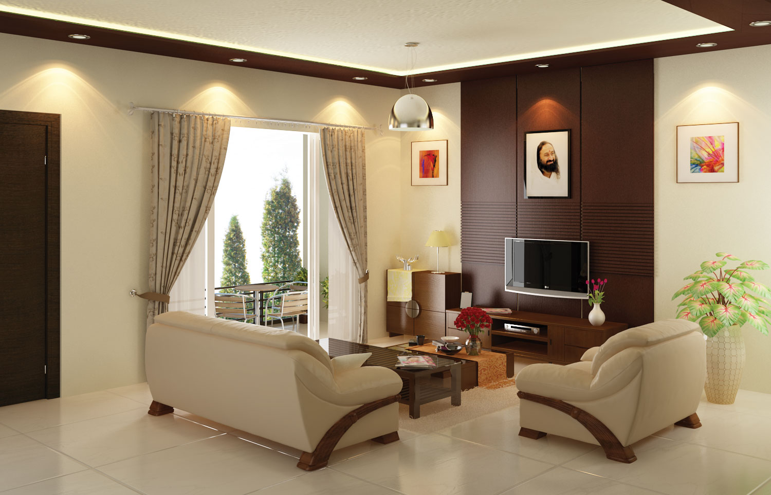 Soudhamini Living Room View